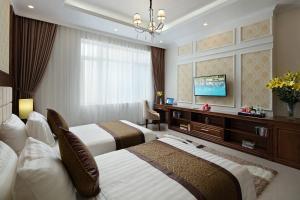 A room at Center Hotel Bac Ninh