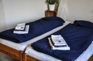 Ein Zimmer in der Unterkunft B&B im Herzen von Biel
