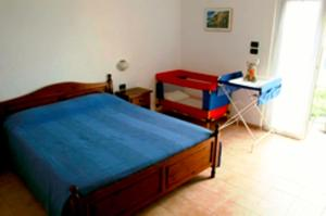 A bed or beds in a room at Hotel Del Sole