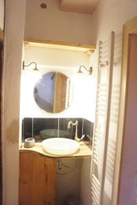 A bathroom at Ferienhaus Bonn