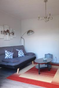 A seating area at Les Sources de Saverne