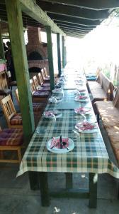 Restaurant ou autre lieu de restauration dans l'établissement Farm stay Lackovic