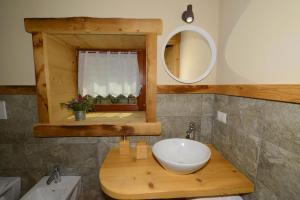 A bathroom at Il Faita
