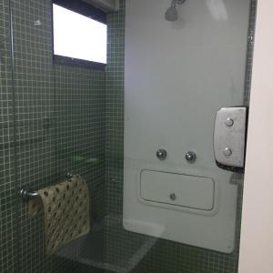 A bathroom at Apartamento Boa Viagem