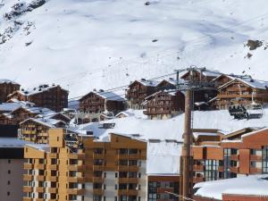 Balcons Appartements Val Thorens Immobilier during the winter