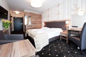 Ein Zimmer in der Unterkunft Cristal SPA