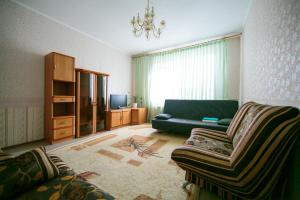 Гостиная зона в Apartment on Lenina 72