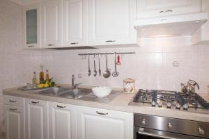 Cucina o angolo cottura di Casa Rosa