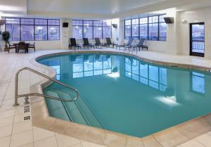 The swimming pool at or near Embassy Suites Anchorage