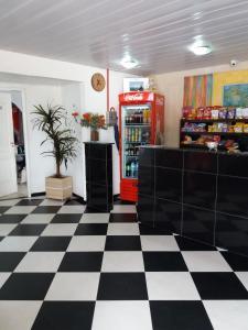 The lobby or reception area at Hotel Porto Seguro