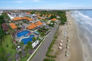 A bird's-eye view of Bali Niksoma Boutique Beach Resort