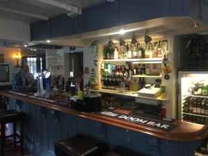 The lounge or bar area at The Winchfield Inn