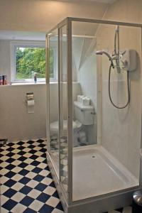 A bathroom at The Anchorage