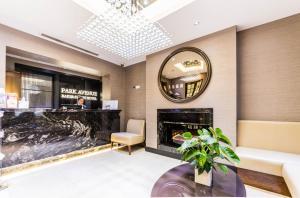The lobby or reception area at Park Avenue Baker Street