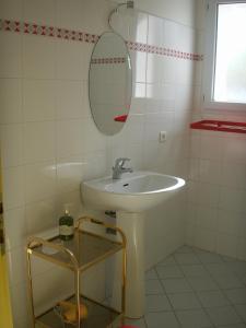 A bathroom at Les Illates
