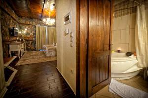 O baie la Hotel Kaimak Inn