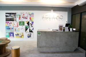 The lobby or reception area at Area 69 (Don Muang Airport)