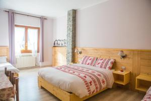 Ein Zimmer in der Unterkunft Albergo Rotenthal