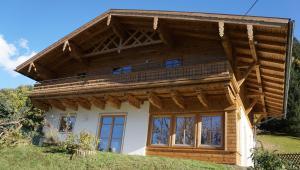 Eine Fassade oder ein Eingang zu Chalet Alsegg