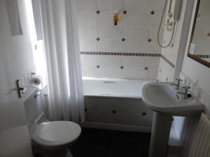 A bathroom at The Bruce Inn