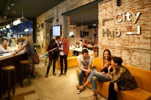 Clients de l'établissement CityHub Amsterdam