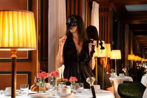 Restaurant ou autre lieu de restauration dans l'établissement La Chambre du Marais