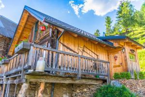 Eine Fassade oder ein Eingang zu Ferienhaus Ottlgut