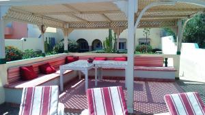 Restaurant ou autre lieu de restauration dans l'établissement Dar Saada Mirleft