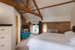 A room at The Old Dairy at Bishops Barton