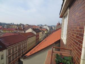 Een balkon of terras bij Florenc 41