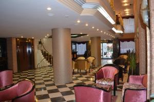 Лаундж или бар в Tayhan Hotel