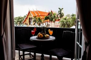 A balcony or terrace at 99 The Heritage Hotel