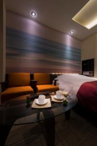 A seating area at The CALM Hotel Tokyo