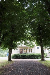 A garden outside Partille Vandrarhem