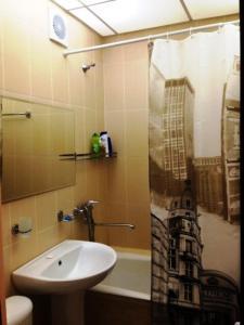Ванная комната в Апартамент у станции Пермь 2