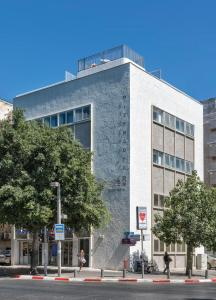 Eine Fassade oder ein Eingang zu Dizengoff 208 Hotel Tel Aviv