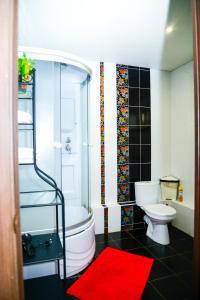 Ванная комната в Отель Мармелад
