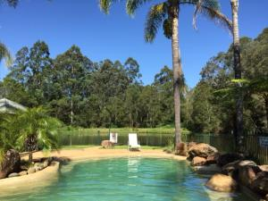 The swimming pool at or near Romantic Cottage for 2