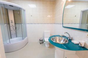 Ванная комната в Апартаменты на 8 небе