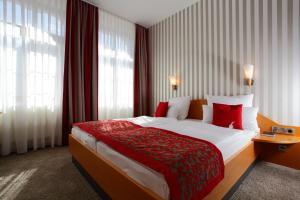 Ein Zimmer in der Unterkunft Hotel & Restaurant Michaelis