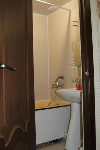 Ванная комната в Апартаменты в Голубых озерах