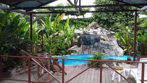 The swimming pool at or close to Hotel Inn Jimenez