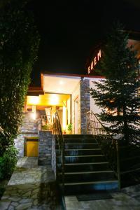 Fațada sau intrarea în Hotel Edem