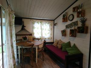 Lounge oder Bar in der Unterkunft TCS Camping Bern - Eymatt