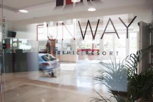 The lobby or reception area at Funway Academic Resort