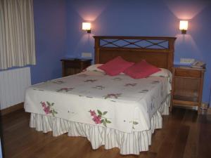 Una habitación en La Posada de Cucayo