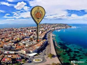 Blick auf Hotel Medici aus der Vogelperspektive
