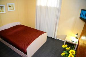 Кровать или кровати в номере Отель Мармелад