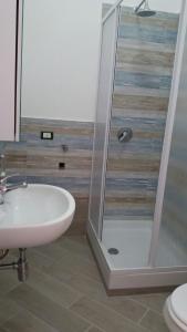 A bathroom at Appartamento Mangi