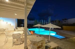 Un patio sau altă zonă în aer liber la Hotel Francesca